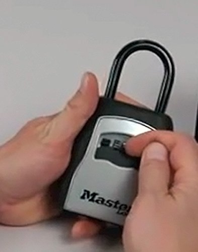 master lock combination key safe instructions