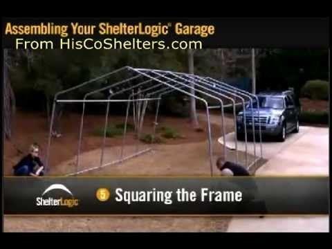 assembly instructions for shelterlogic