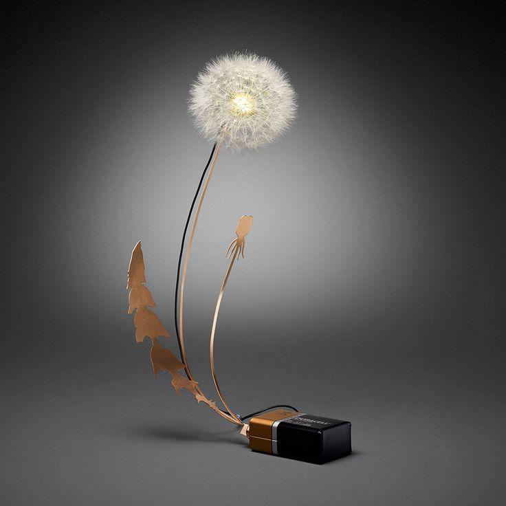 led dandelion light instructables