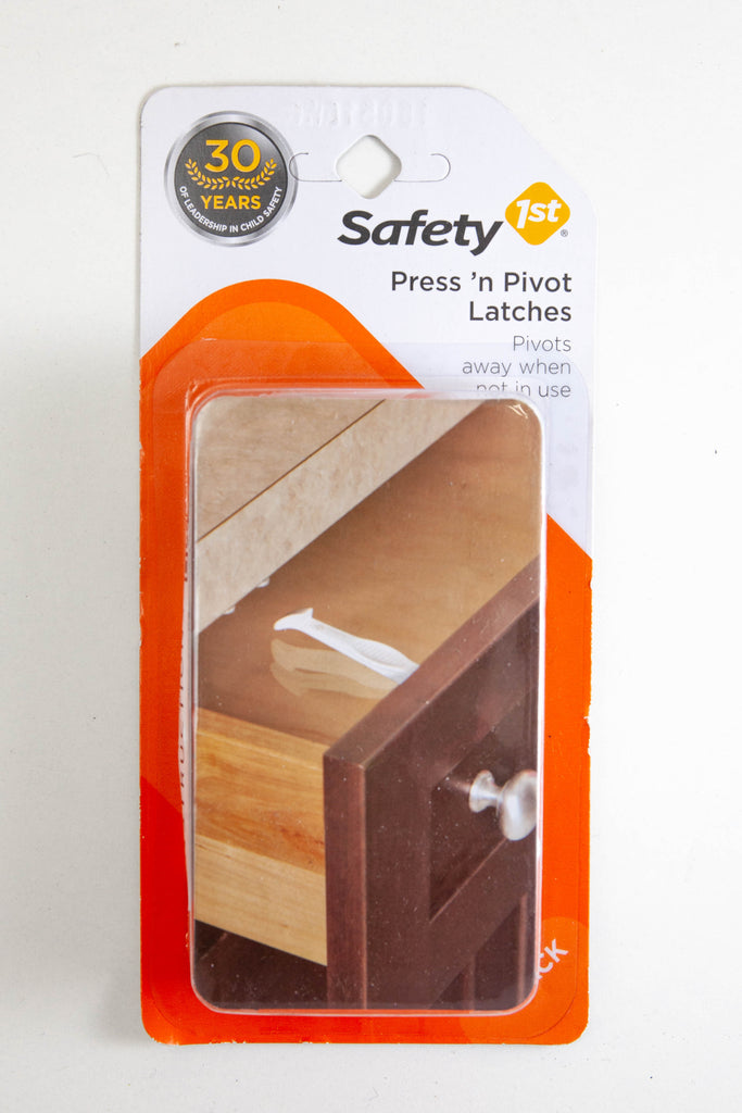 safety first press and pivot latches instructions