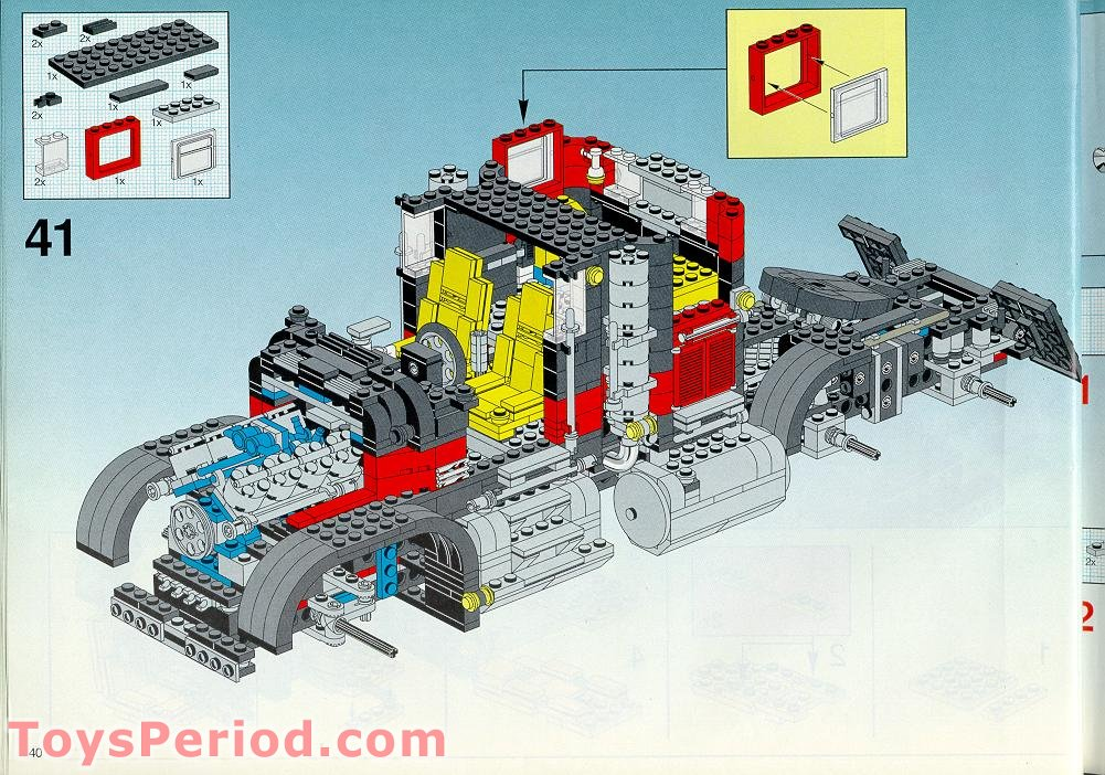 lego giant booster building instruction