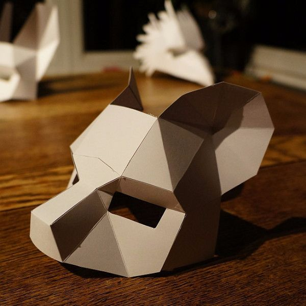origami lion instructions faces