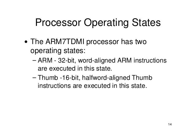 arm assembly language instruction set