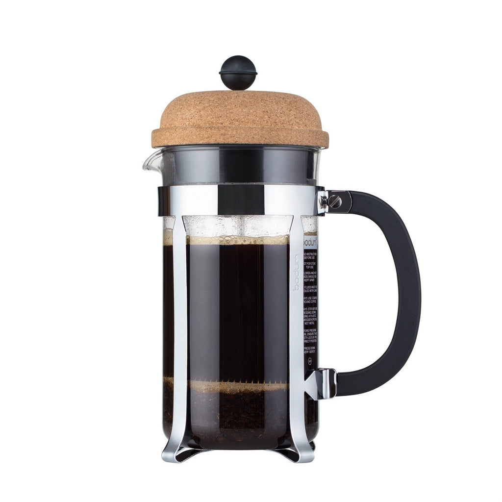 bodum black coffee press instructions