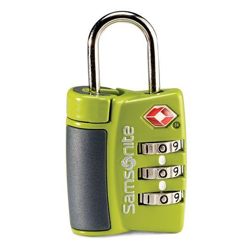samsonite combo lock instructions