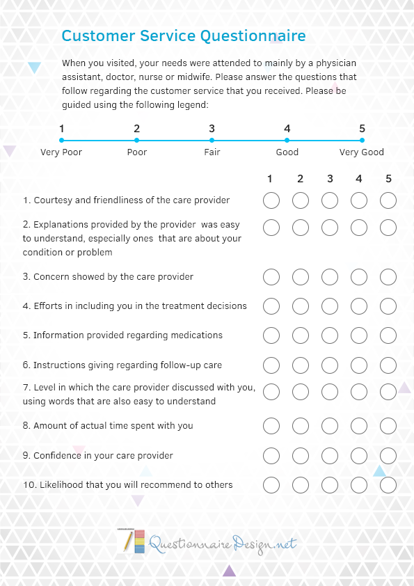 instructions on how to submit feedback survey