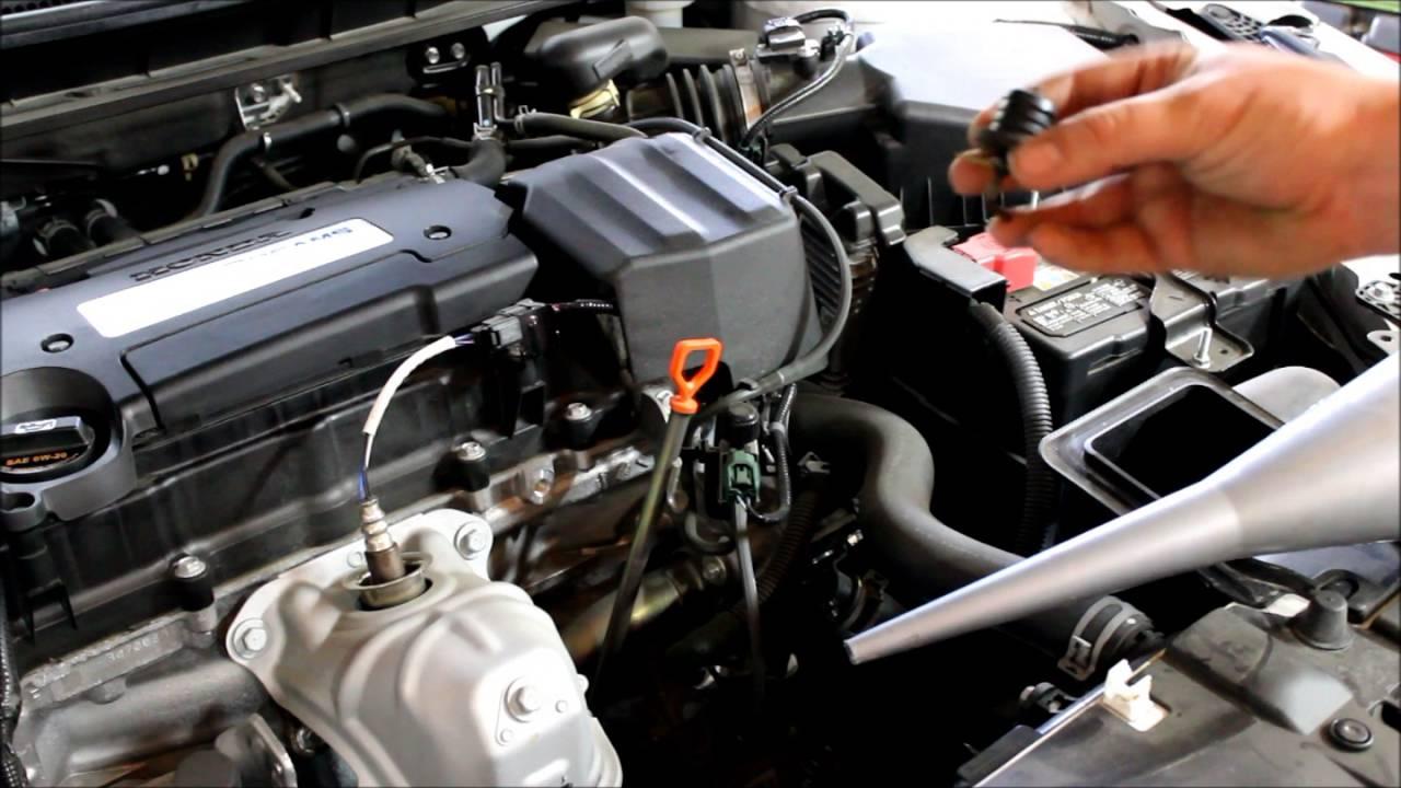 2017 honda cr v transmission fluid change instructions