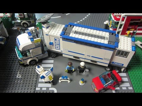 lego police command center 7288 instructions