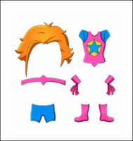 paper doll costume instructions