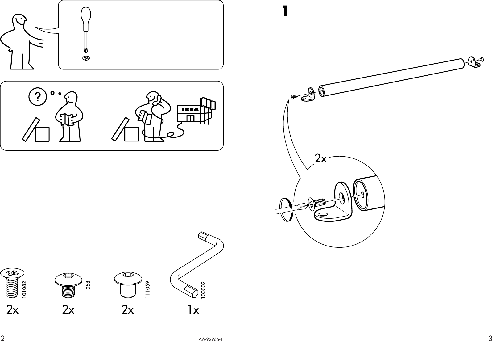ikea assembly instructions for hasselvika