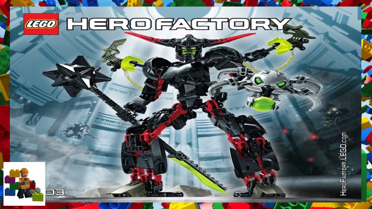 lego hero factory instructions black phantom
