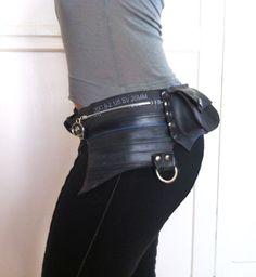 motorcycle hip bag instructions diy
