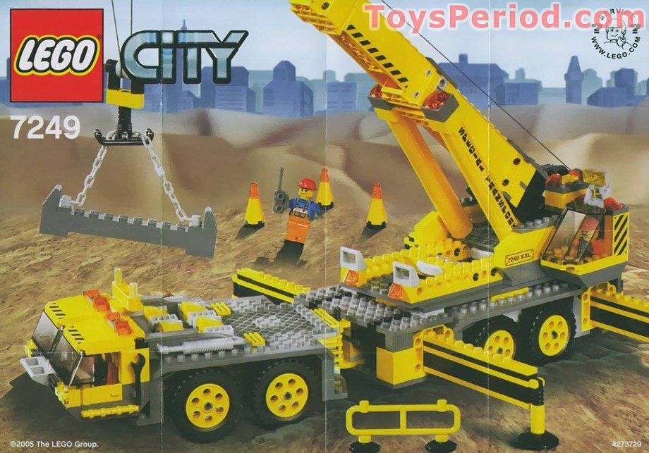 lego xxl mobile crane instructions