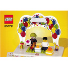 lego snowman instructions 40093