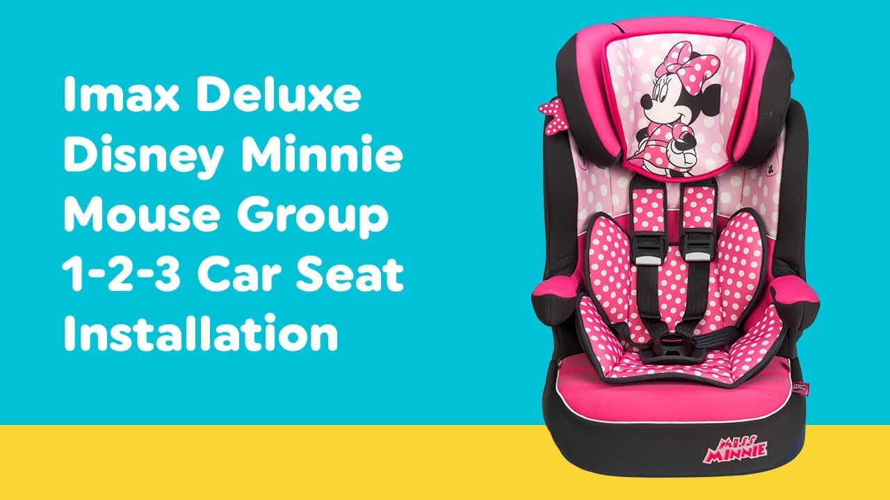 miss minnie car seat instructions