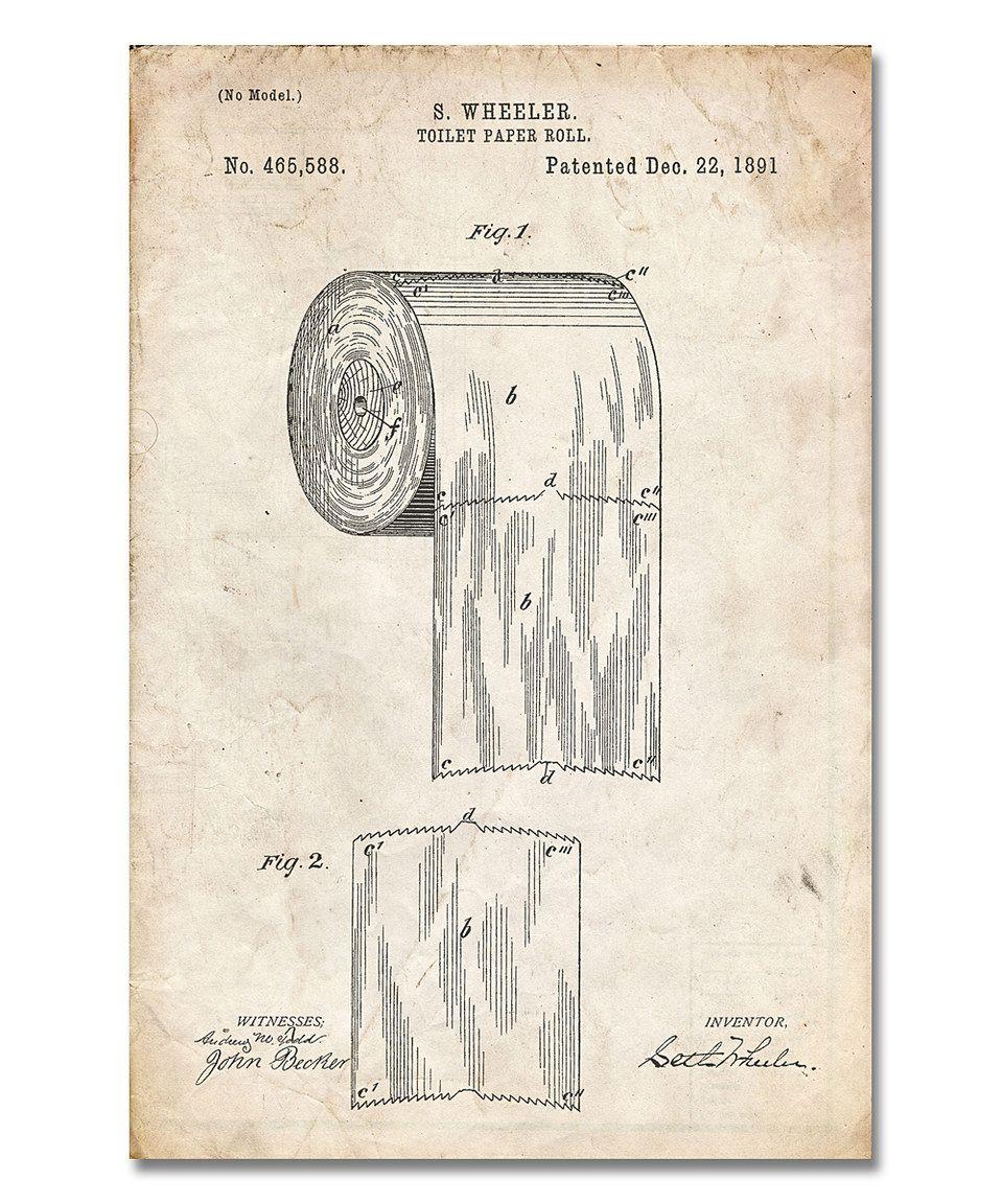 toilet paper patent instructions