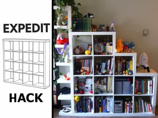 expedit shelf ikea instructions