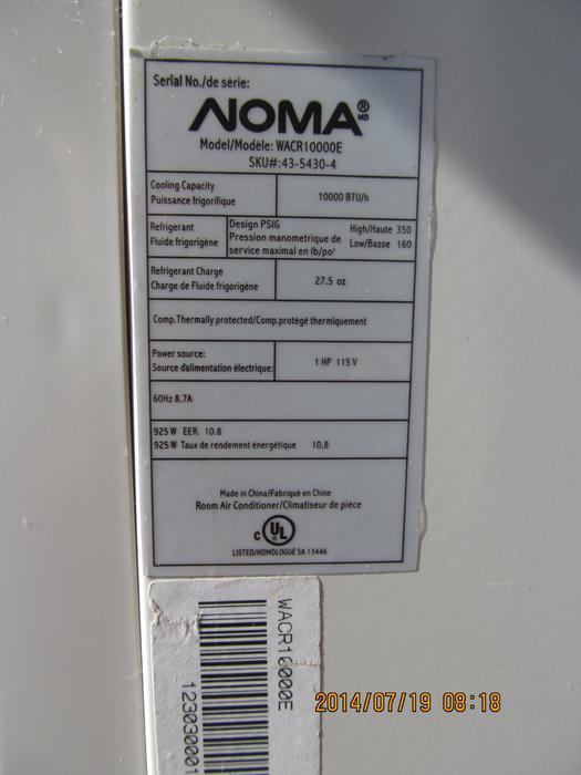 danby portable air conditioner dpa110b2wdd instruction manual