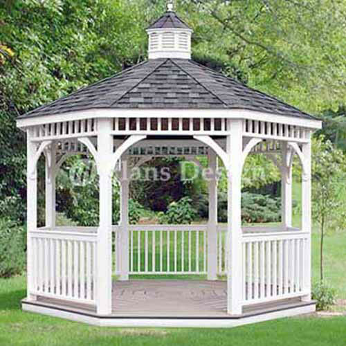 for living octagon gazebo instructions