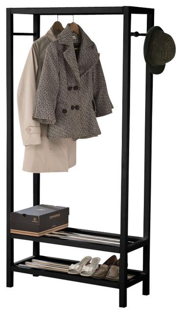 for living double garment rack instructions