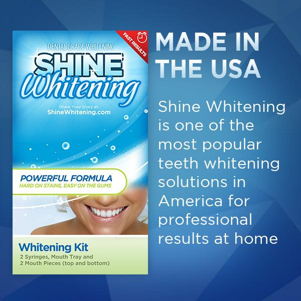 shine whitening kit instructions