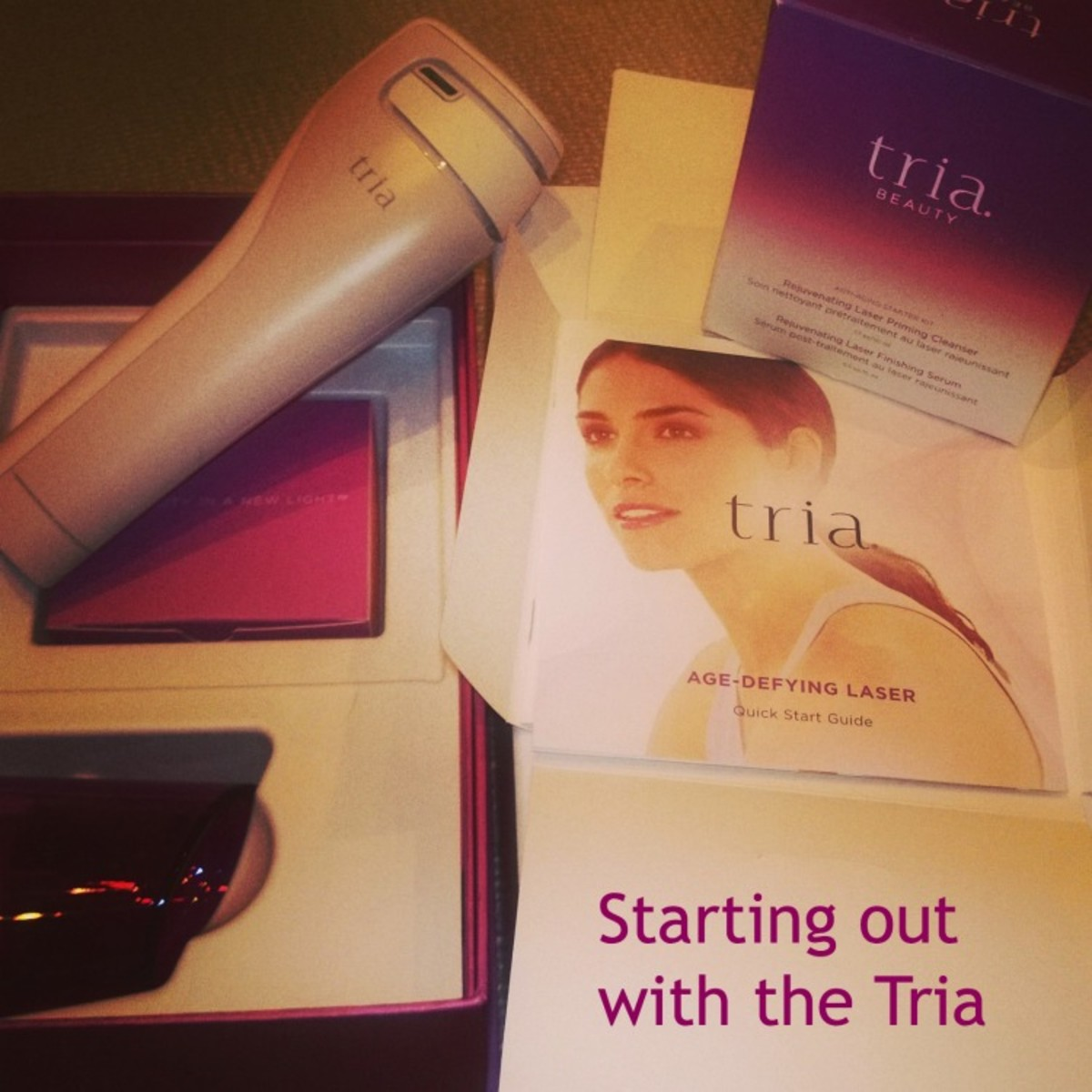 tria age laser instructions