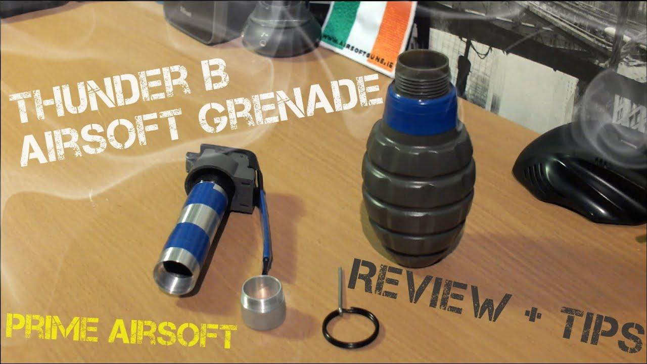 thunder b airsoft grenade instructions