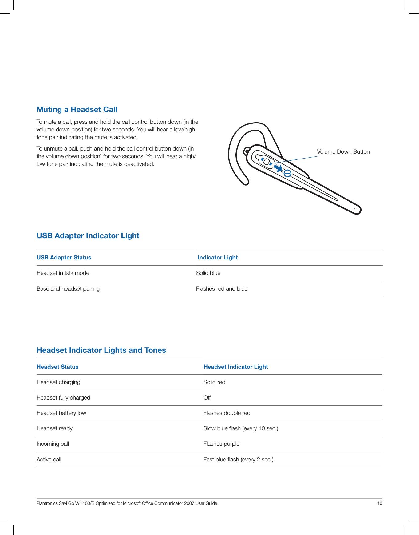 plantronics s12 headset instruction manual