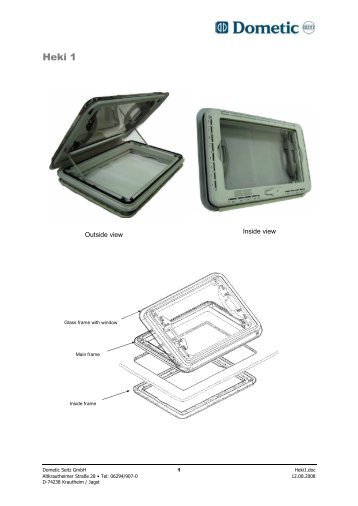 awning dometic instructions installation