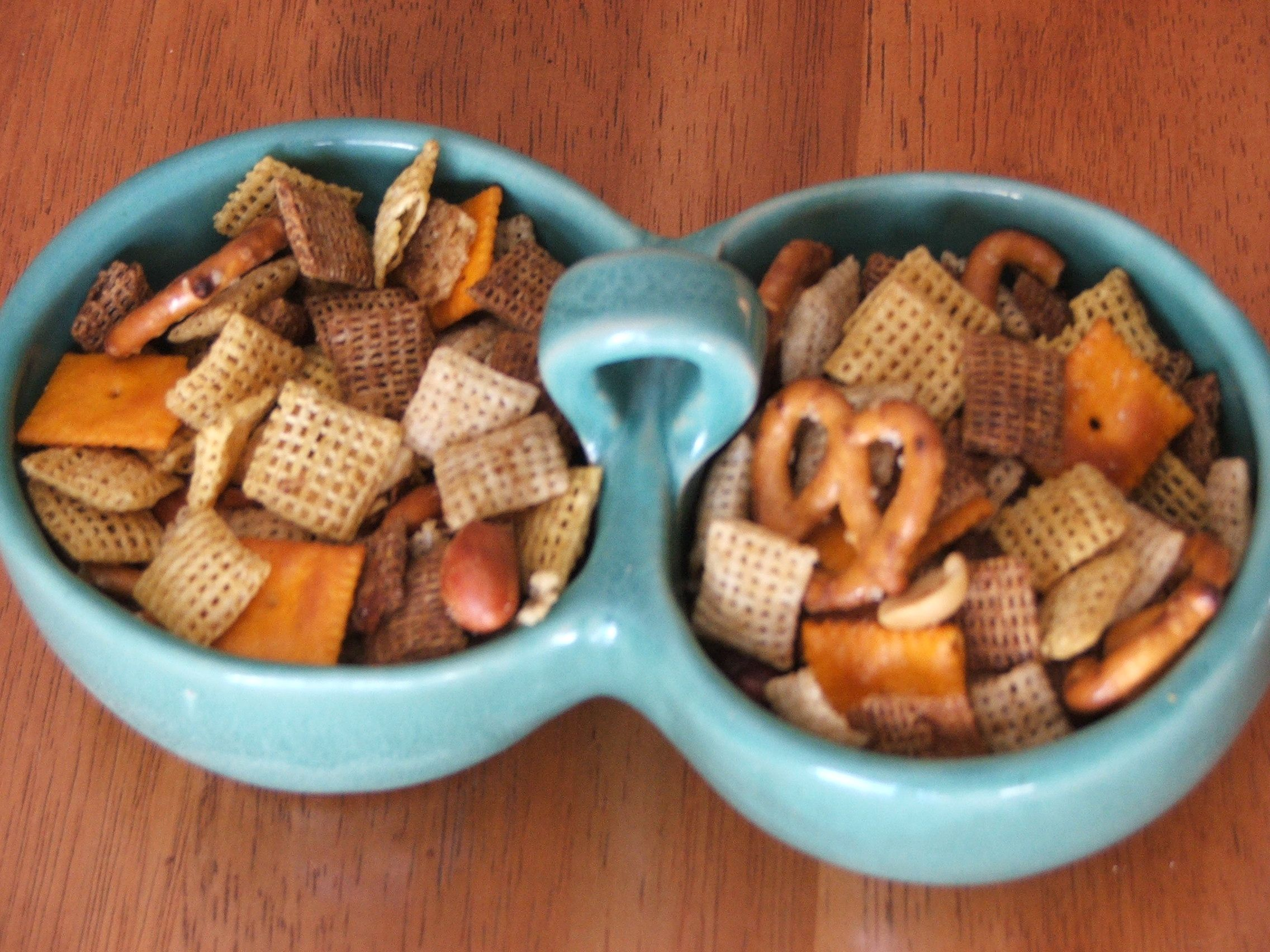 original chex mix oven instructions