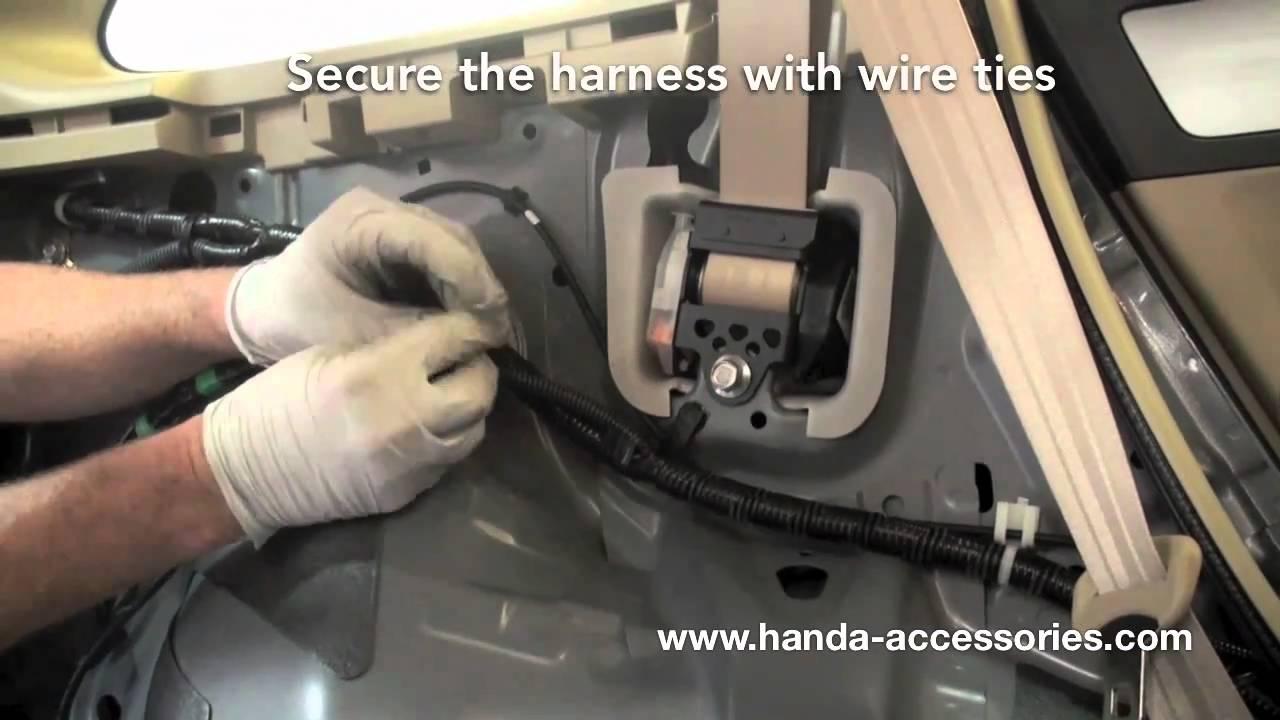honda crv trailer hitch installation instructions