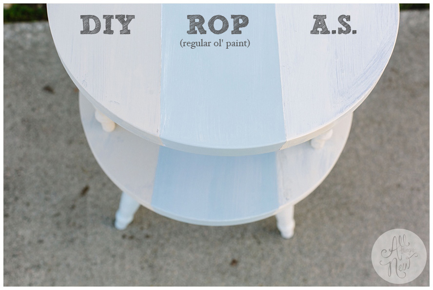 instructions for second coat of annie sloan chalk paint