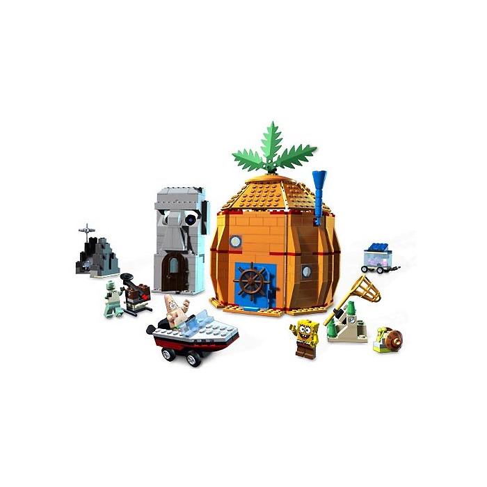 instructions spongebob lego sets