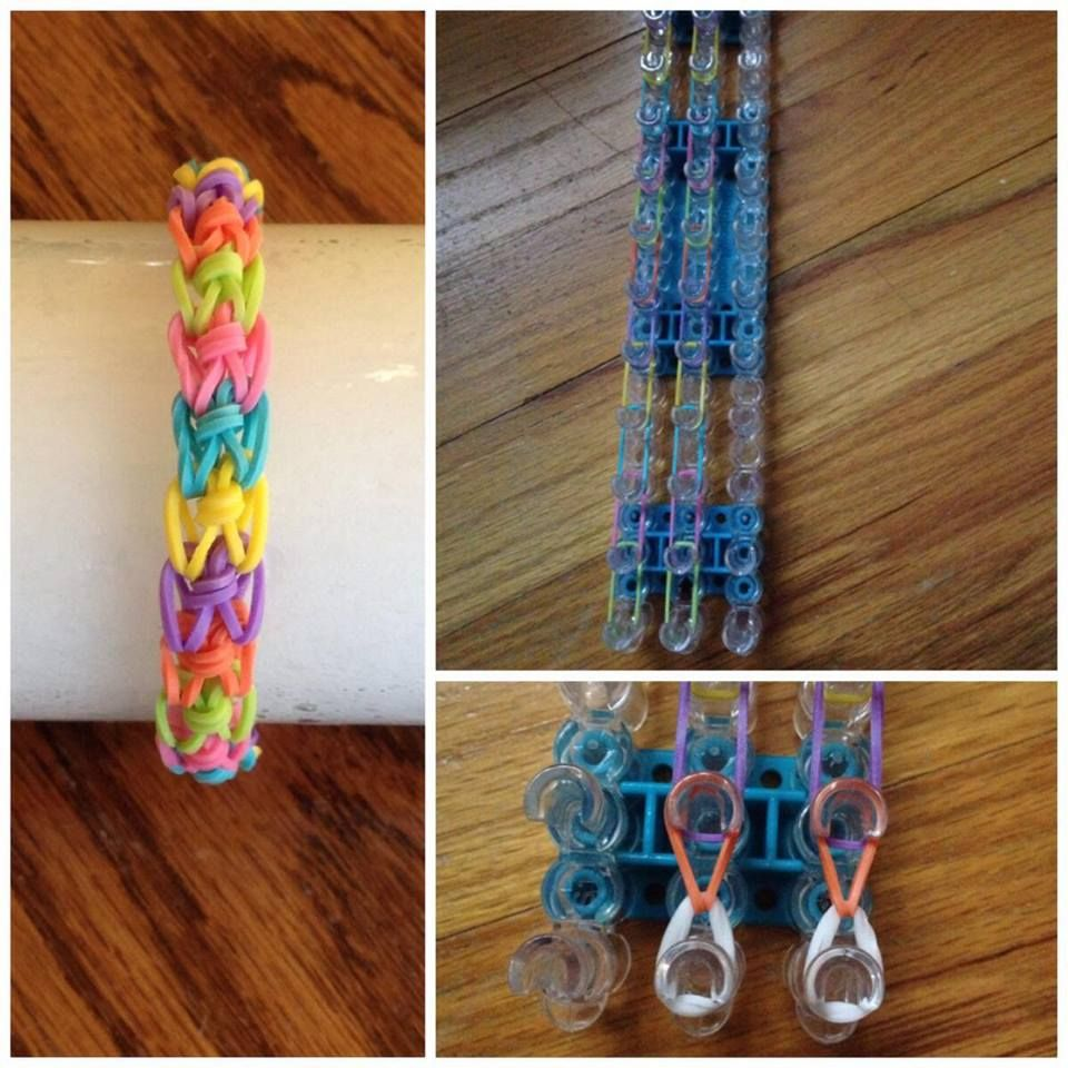 basic rainbow loom bracelet instructions