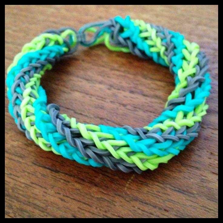 easy crazy loom bracelet instructions