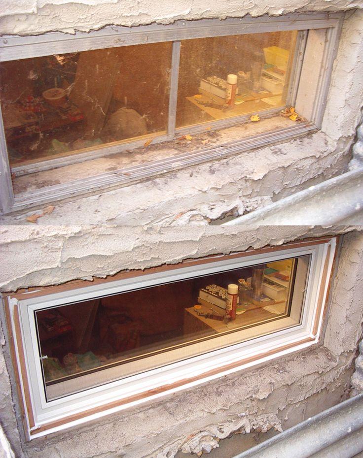 replacement basement window installation instructions