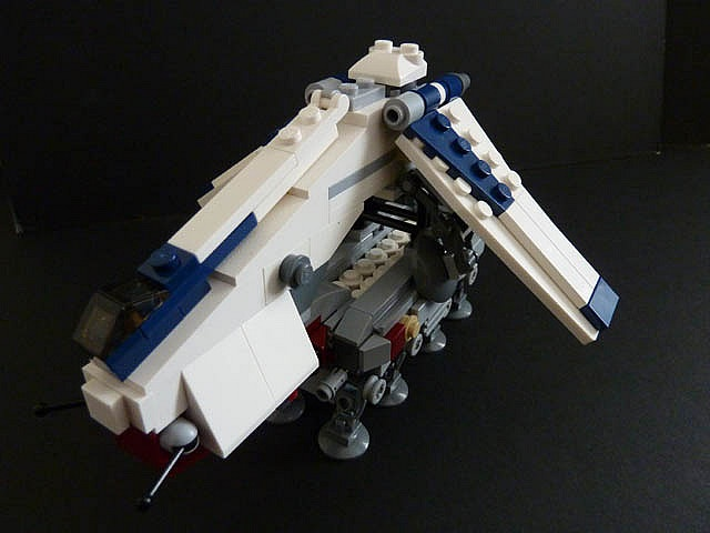 lego star wars mini clone walker instructions