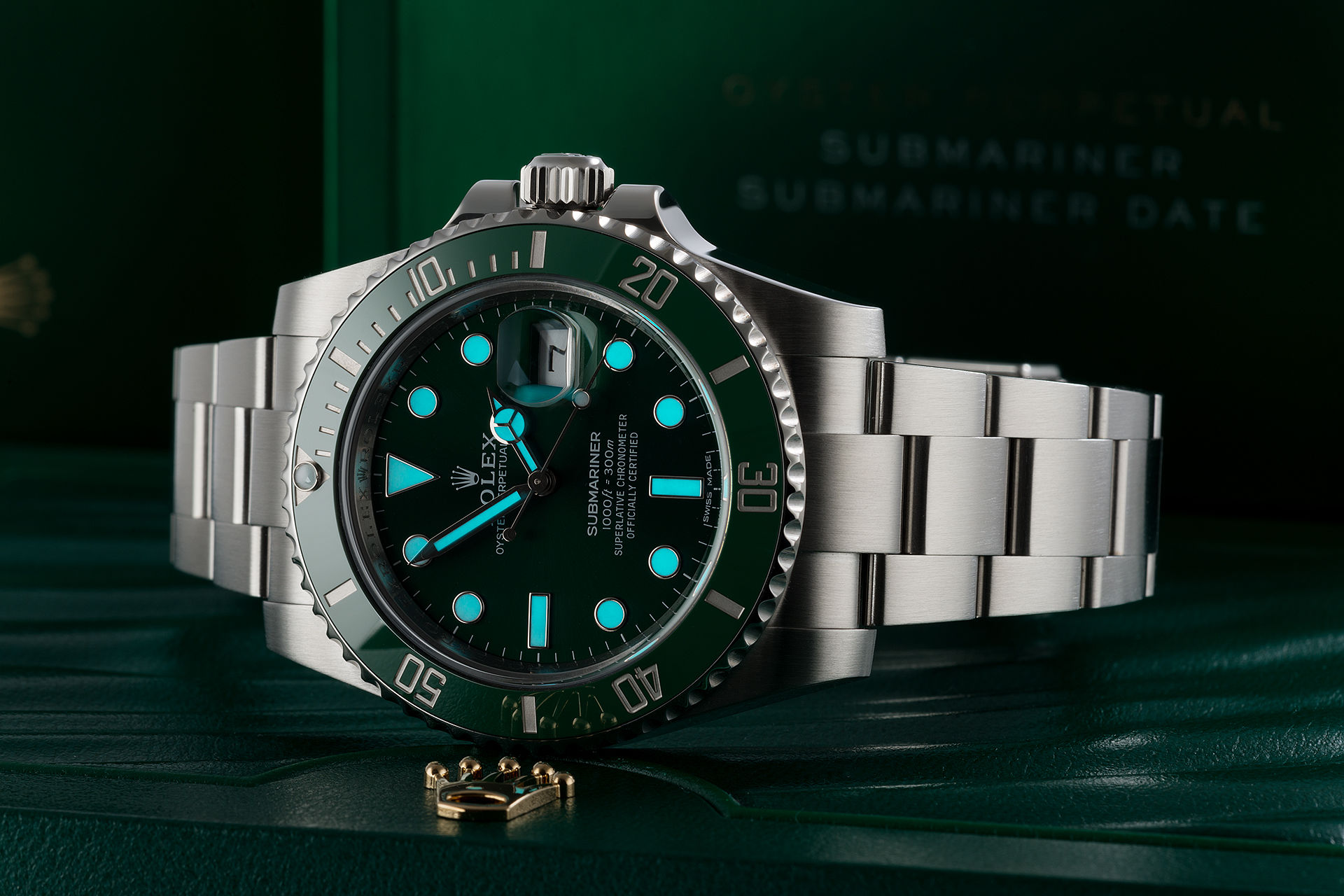 instructions for setting a rolex watch