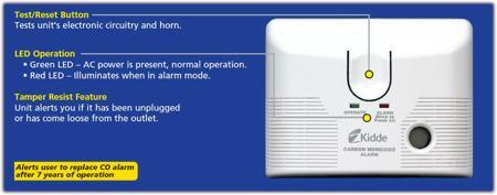 kidde carbon monoxide alarm kn-cob-lcb-a instructions