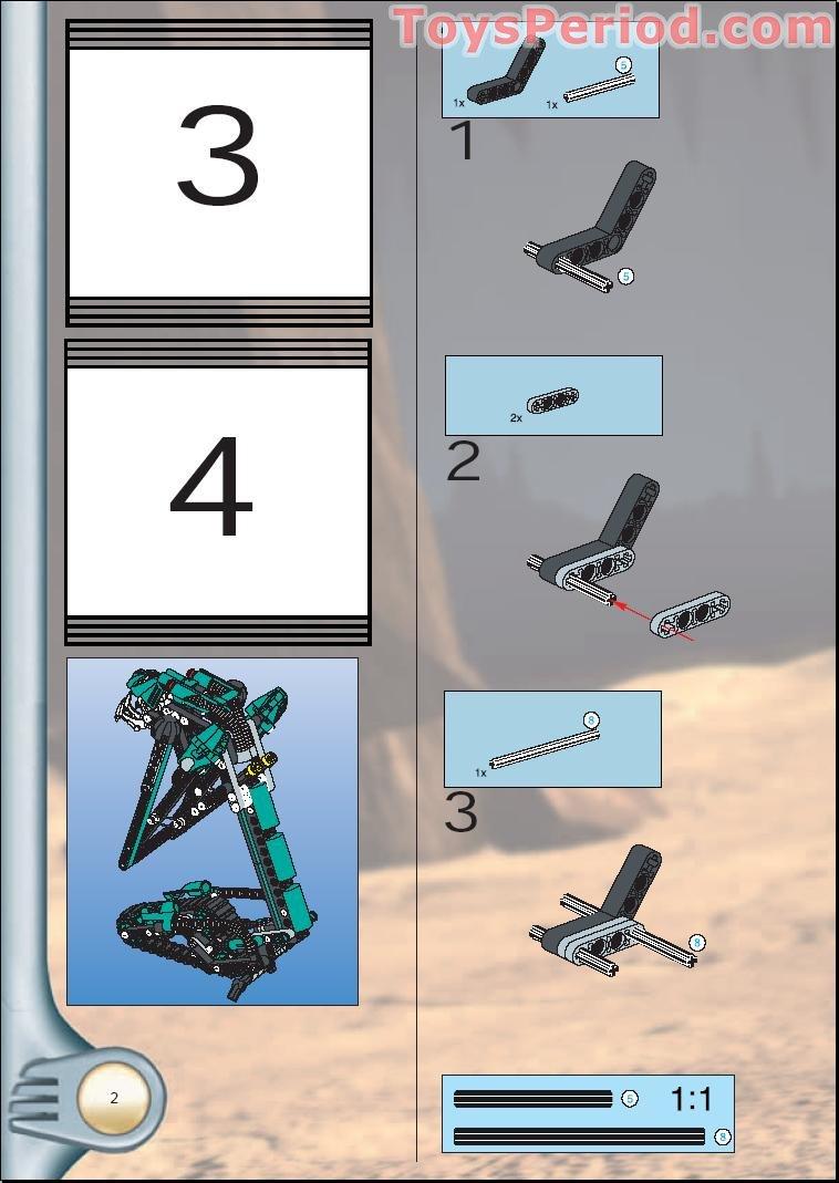 bionicle sand tarakava instructions