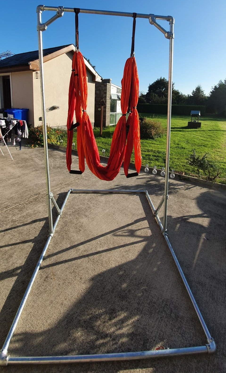 instructions on how to use a trapeze bed rail