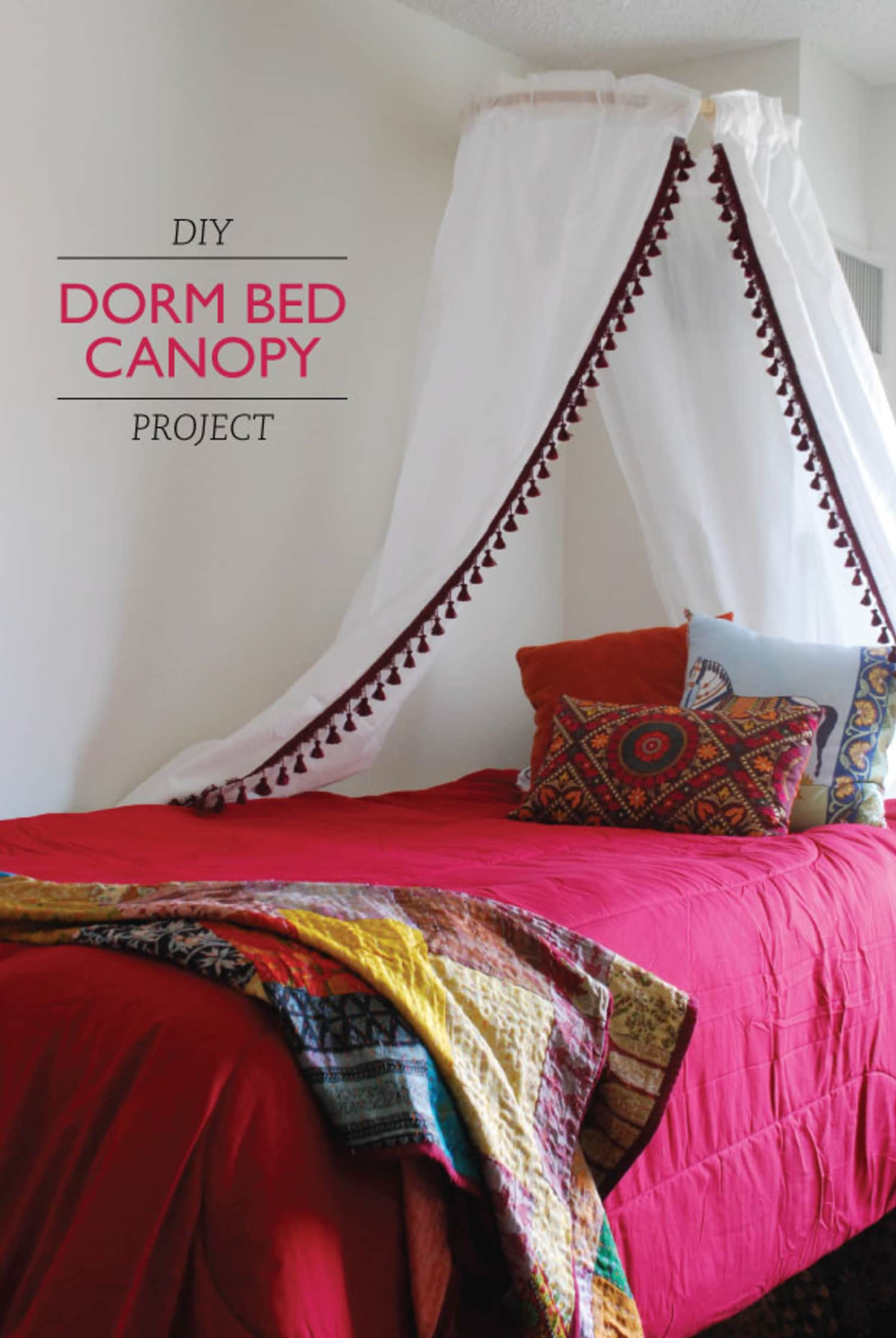 ikea bed canopy instructions