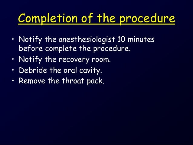 general anesthesia discharge instructions