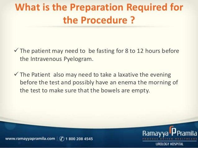 instructions for prep for a renal medical imaging fraser health