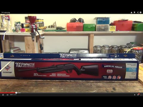 crosman 760 pumpmaster air rifle instructions