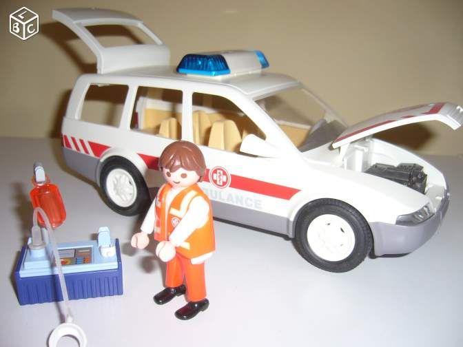 playmobil ambulance 4221 instructions
