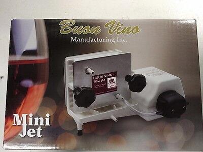 mini jet wine filter instructions