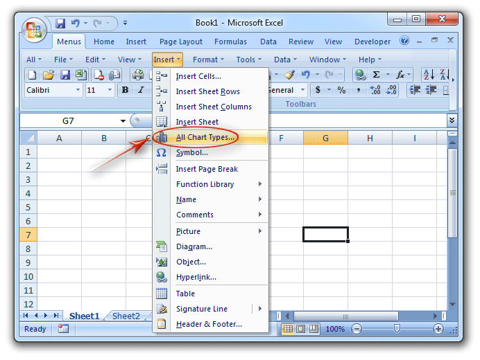 add instructional text to a excel 2010