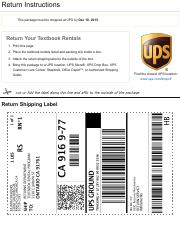 amazon book rental return instructions