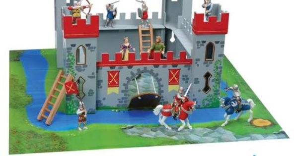 fisher price medieval castle instructions